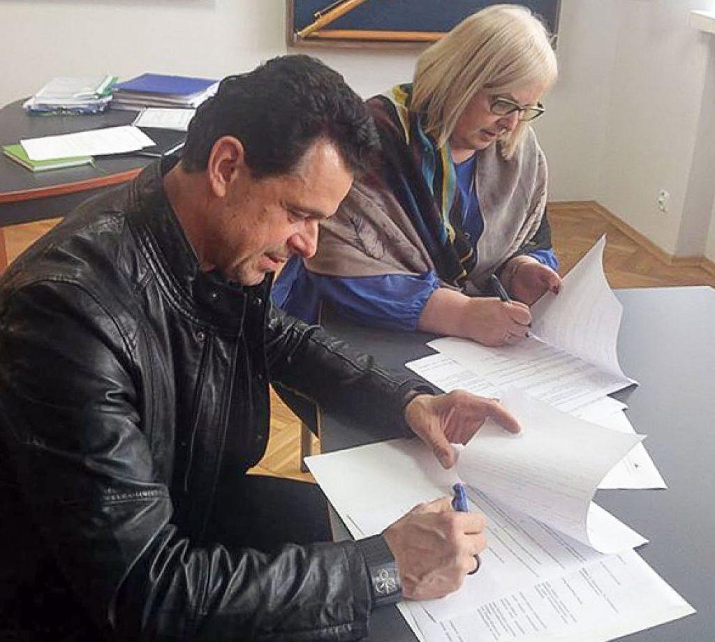 Podpisanie umowy patronackiej z ZSZ nr 1