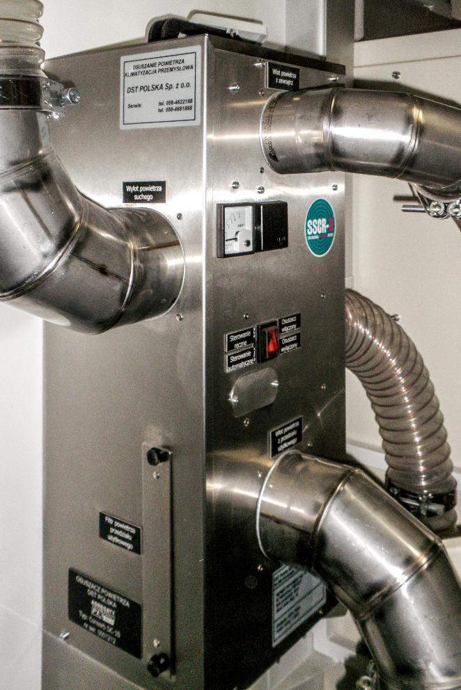 Kontener techniczny KT 20 - osuszacz