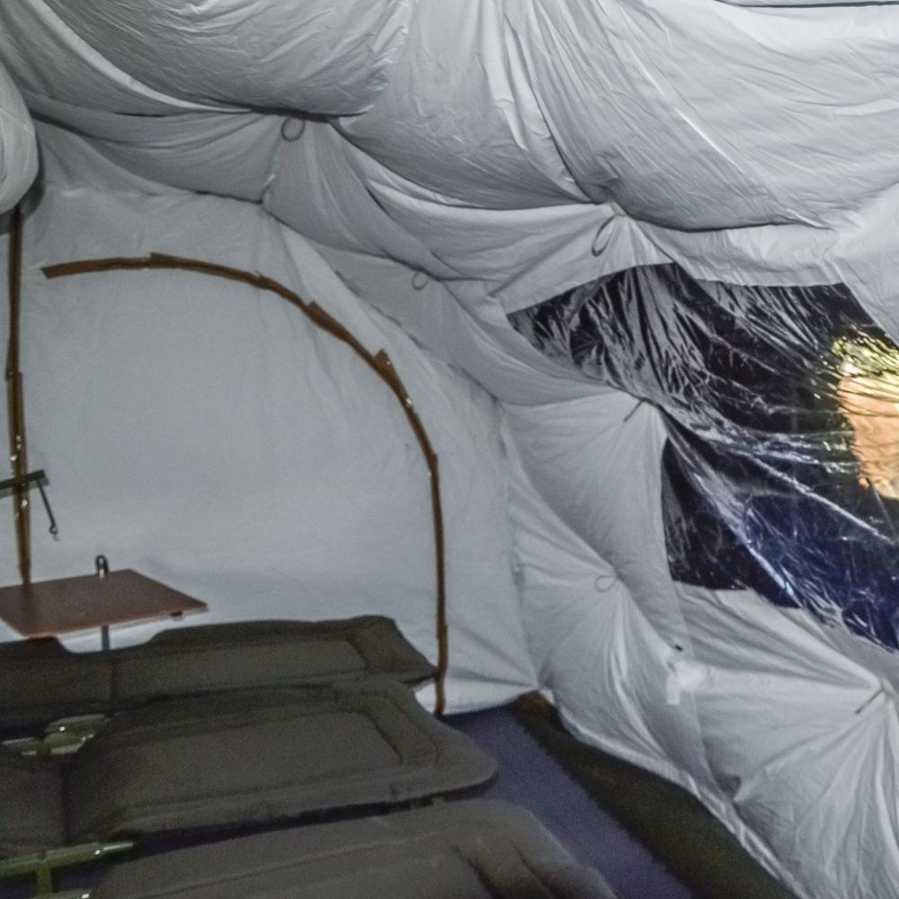 Namiotowy System Izolacji NSI - wnętrze