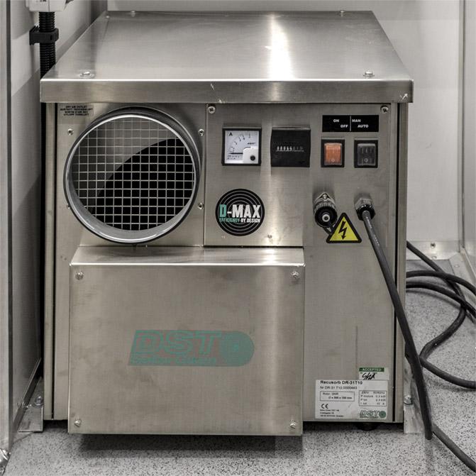 KINFO - Kontener Informatyczny - Osuszacz powietrza