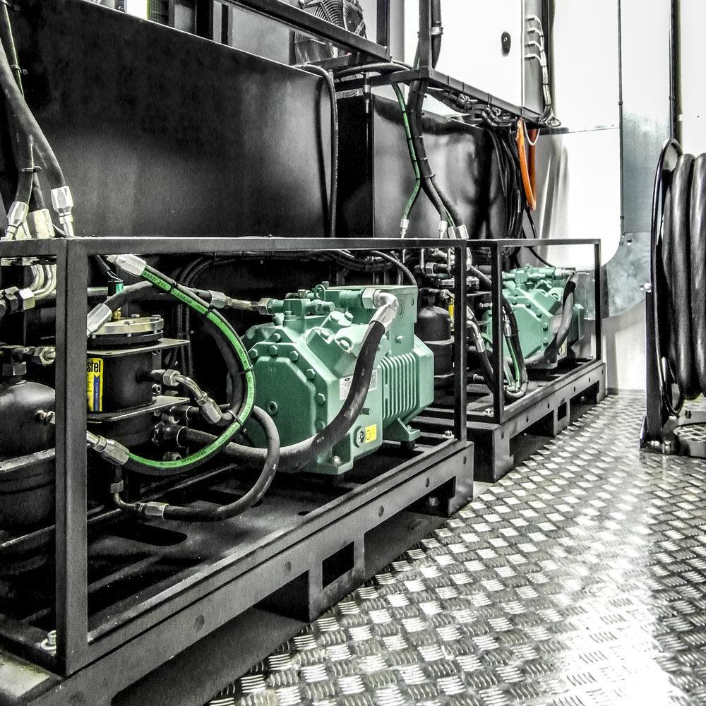 KINFO - Kontener Informatyczny - Sprężarki klimatyzatorów