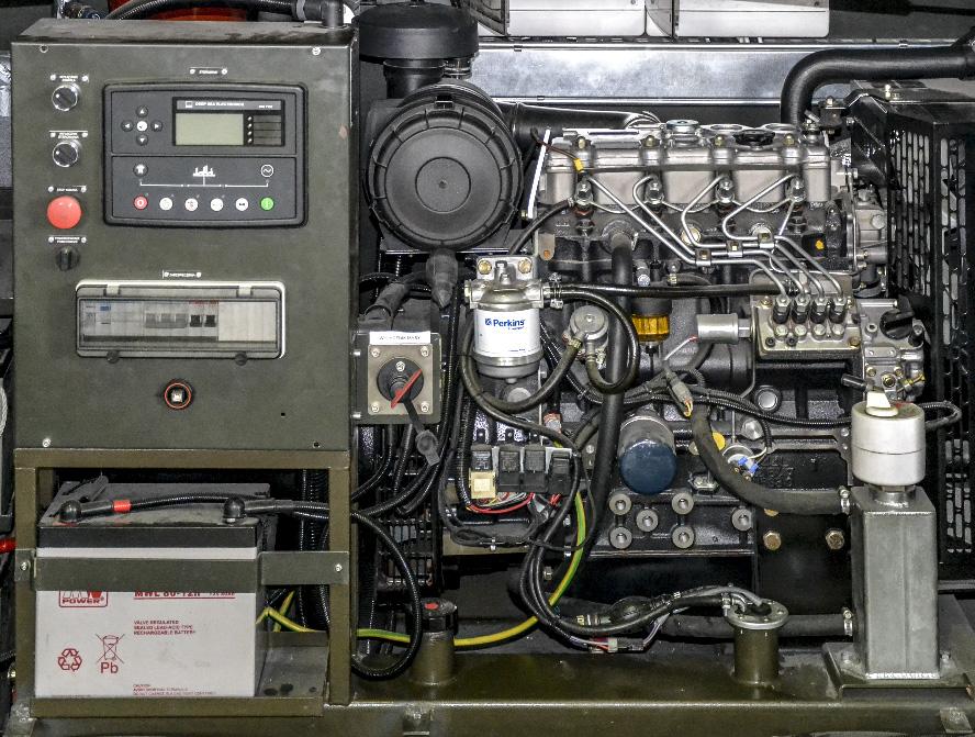 KLM 20 - Kontenerowe Laboratorium Mikrobiologiczne - Przedział techniczny