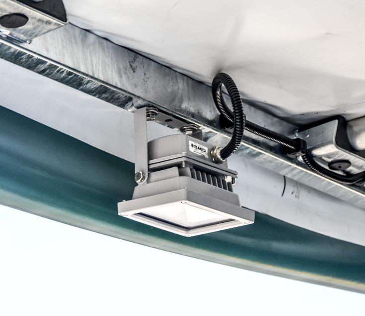 Motopompa wysokowydajna przewoźna MPP 300 - oświetlenie