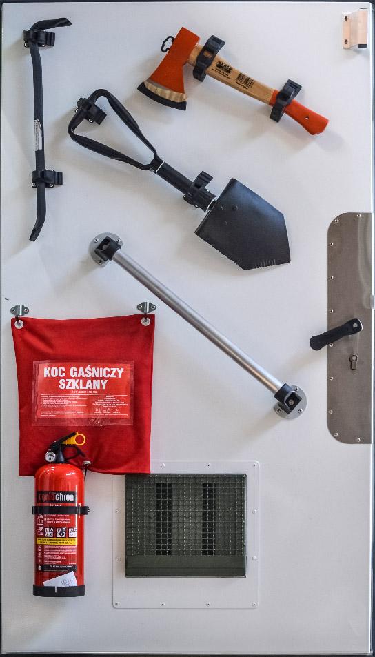 Polowa Stacja Zasilania PES 100 - zestaw narzędzi