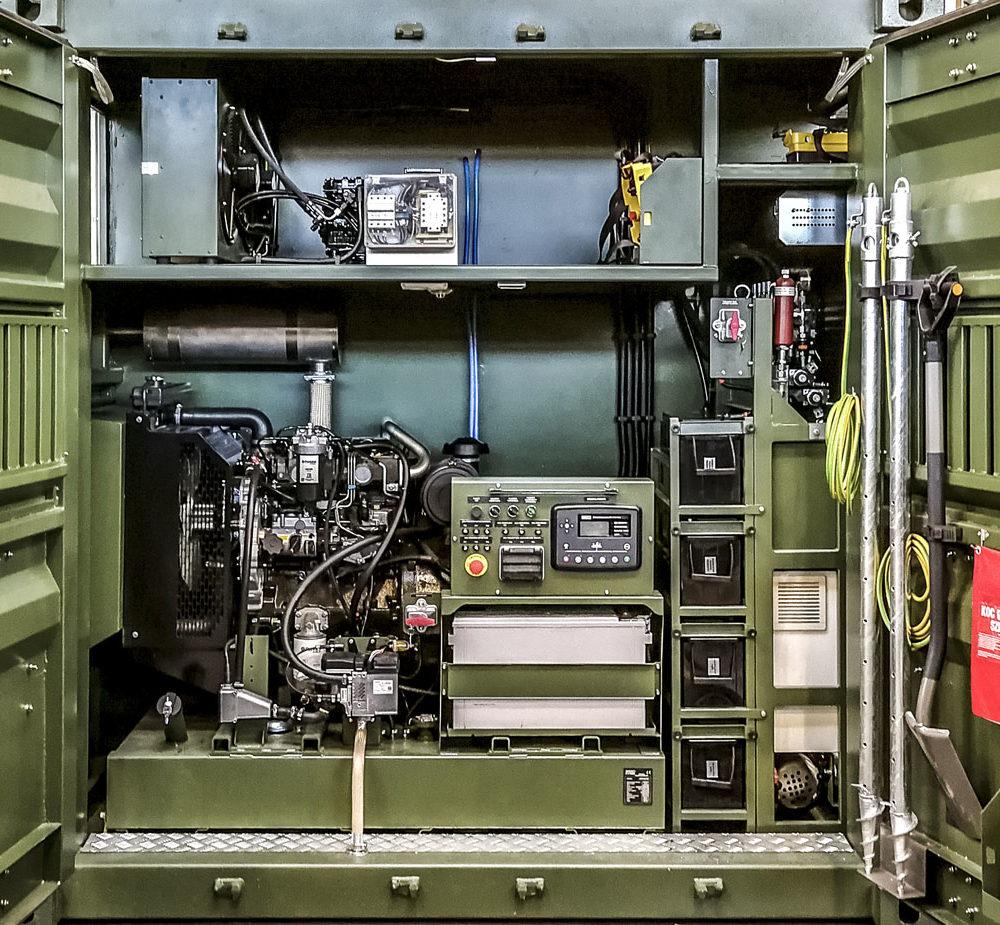 RLM - Ruchome Laboratorium Metrologiczne - Przedział generatora
