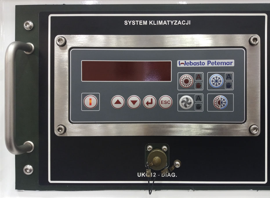 RLM - Ruchome Laboratorium Metrologiczne - Sterownik klimatyzacji