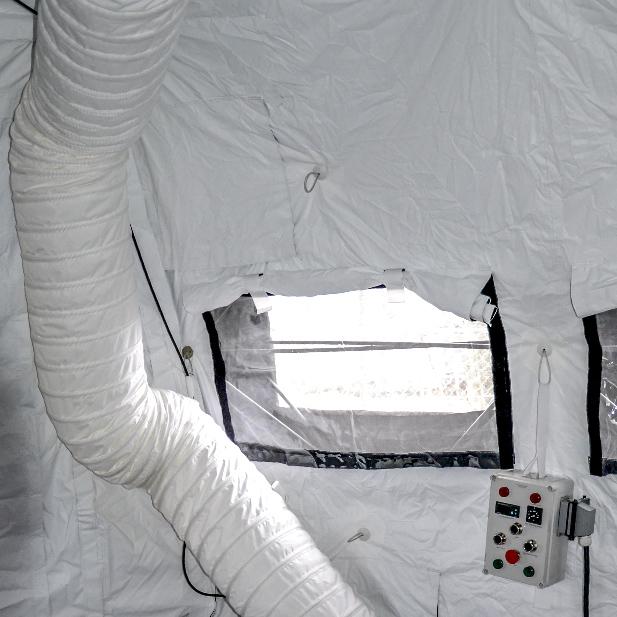 SOP I - Sala Opatrunkowa Poziomu I - System dystrybucji powietrza