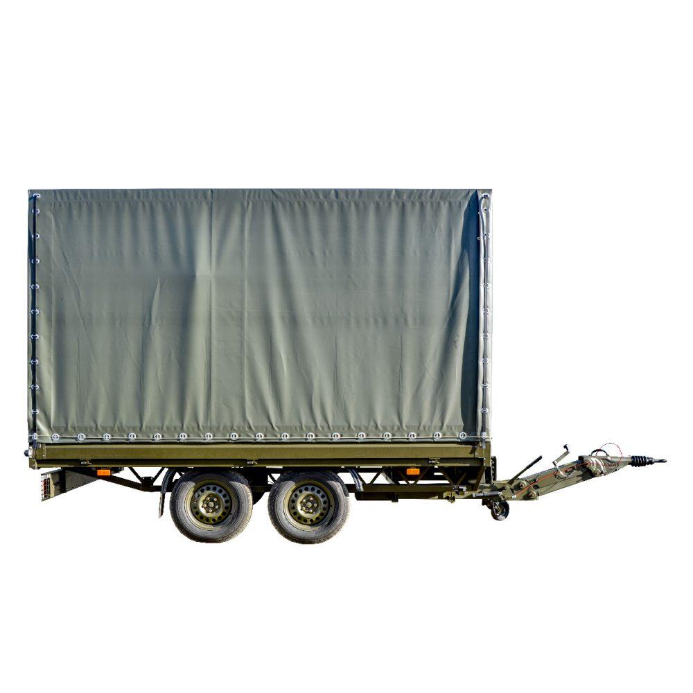Zestaw do Masowej Dekontaminacji ZMD - przyczepa transportowa