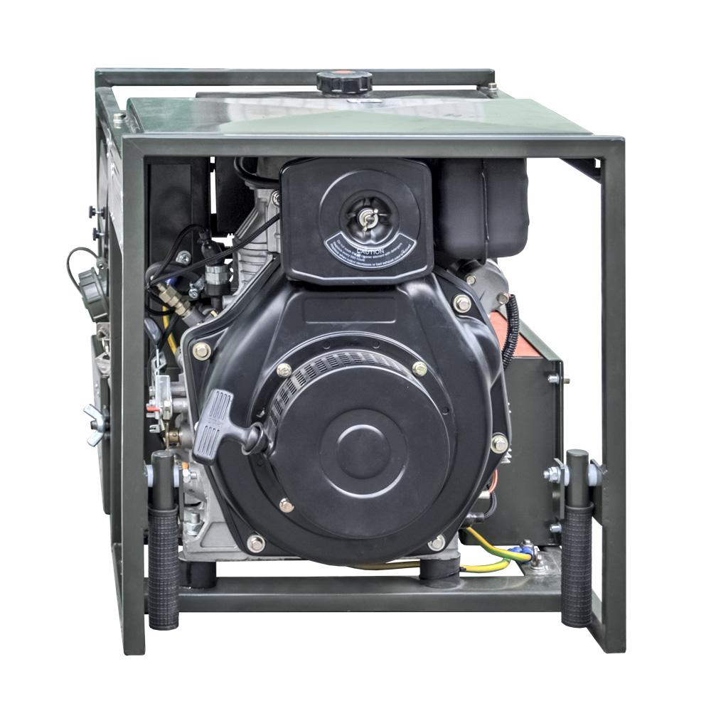 Zespół prądotwórczy ZPP 2.0 DJEO - widok silnika