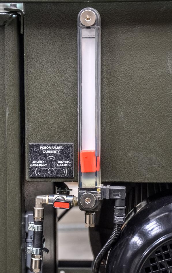 ZPP 8.0 DTO - Wskaźnik paliwa