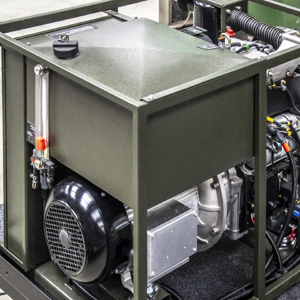 Zespół Prądotwórczy ZPP 8.0 DTO - Zbiornik paliwa
