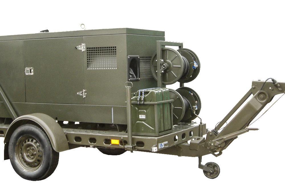 Zespół prądotwórczy ZPW 20 DTZ - wersja przewoźna