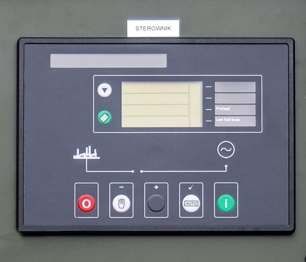 Zespół prądotwórczy ZPW 45 DTZ - Panel sterowniczy