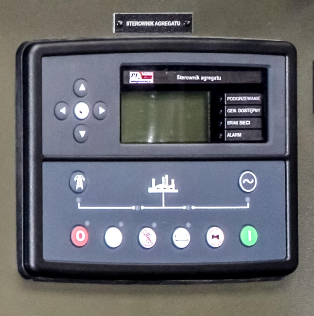Zespół prądotwórczy ZPW 65 DTZ - sterownik