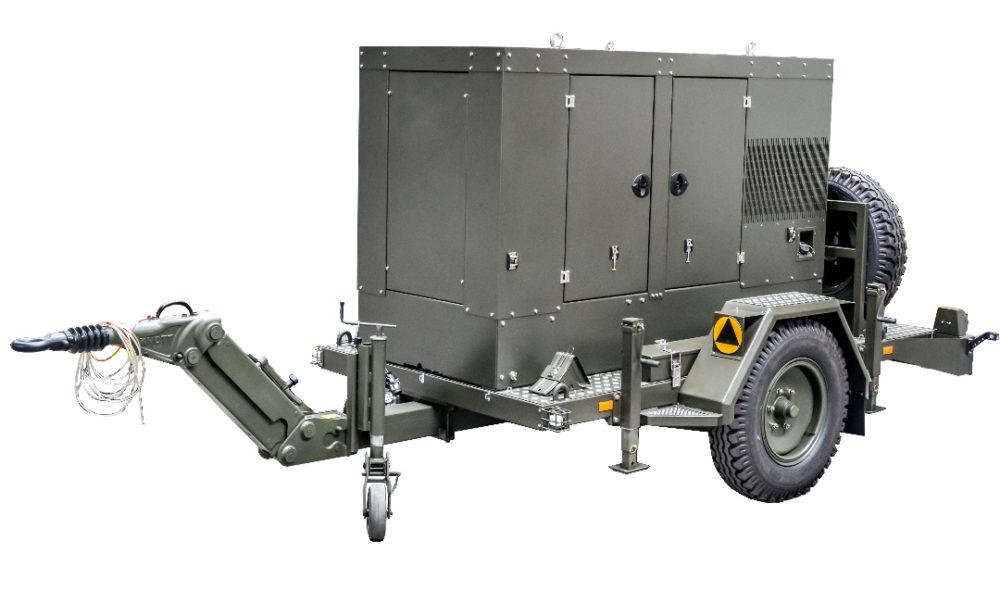 Zespół prądotwórczy ZPW 65 DTZ - wersja przewoźna