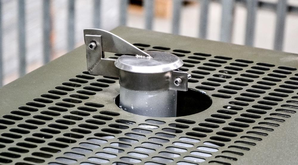 Zespół prądotwórczy ZPW 65 DTZ - Pokrywa wydechu