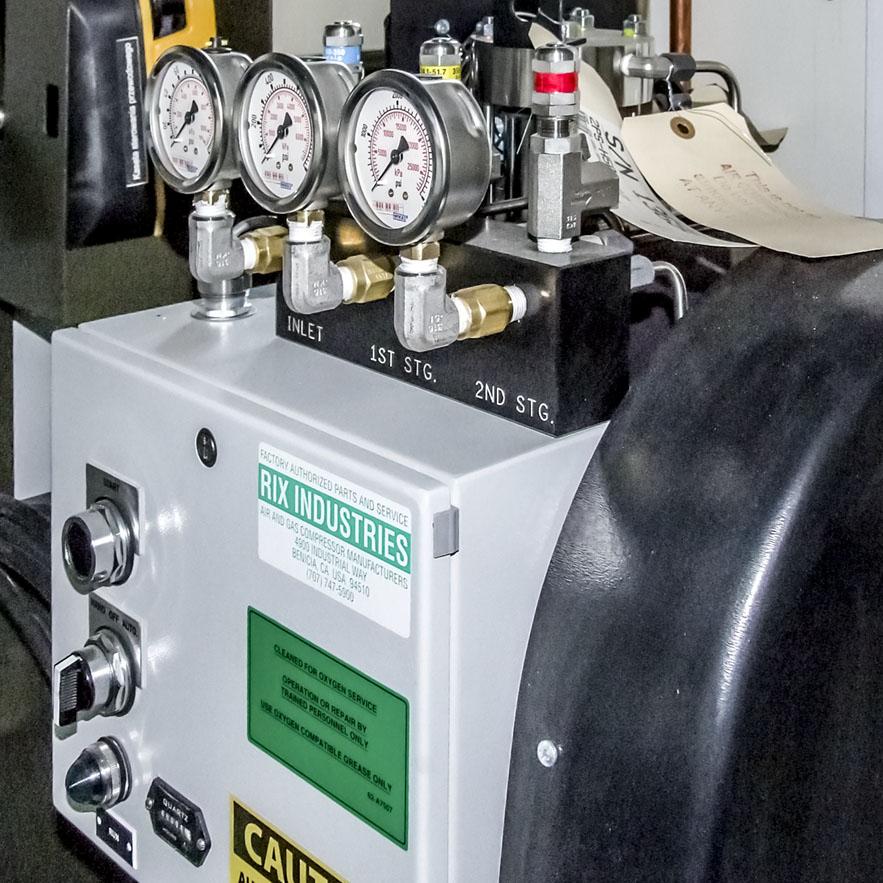 KGM - Kontener Gazów Medycznych - Sprężarka tlenu