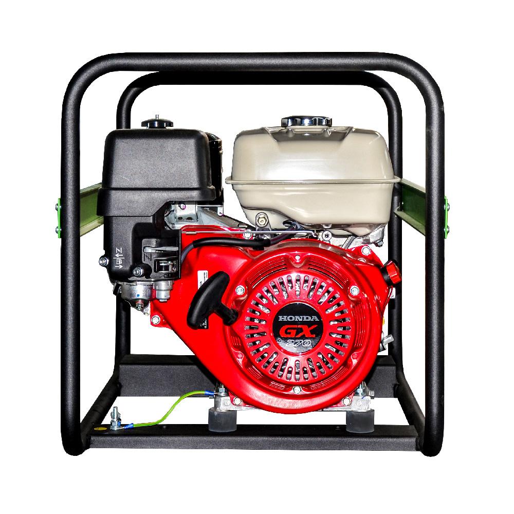 Generator prądotwórczy PEX 5003 - widok z boku