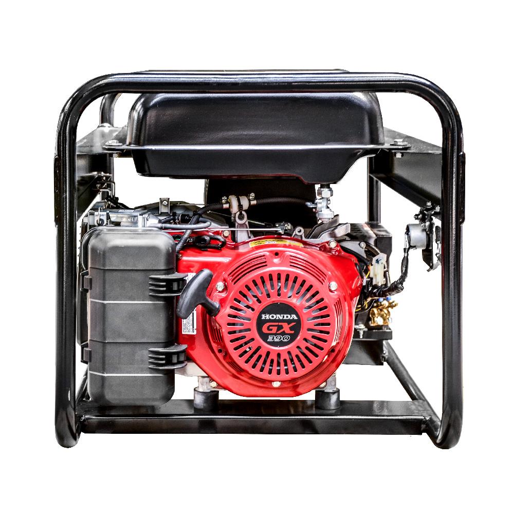 Generator prądotwórczy PEX 6001 - widok z boku