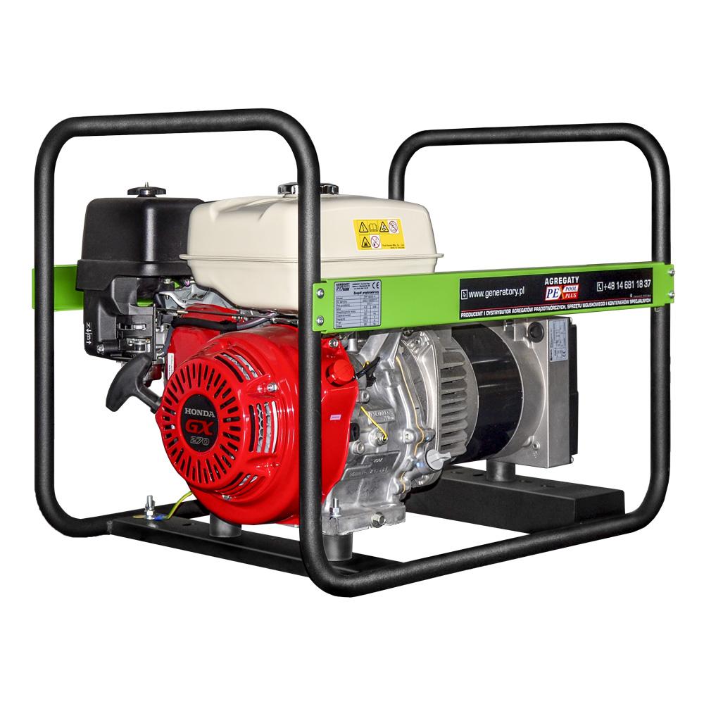 Generator prądotwórczy PEX 4201 HM - widok ogólny
