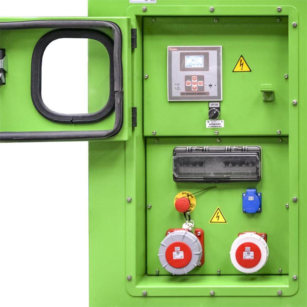 Generator prądotwórczy GPW 30 MZ - Sterownik agregatu