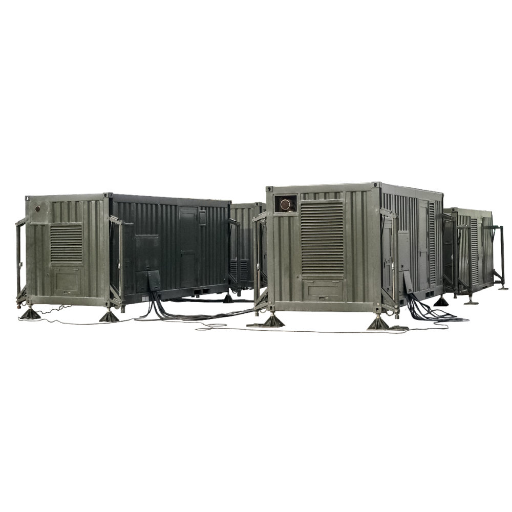 Kontenerowa Elektrownia Polowa KEP 1100