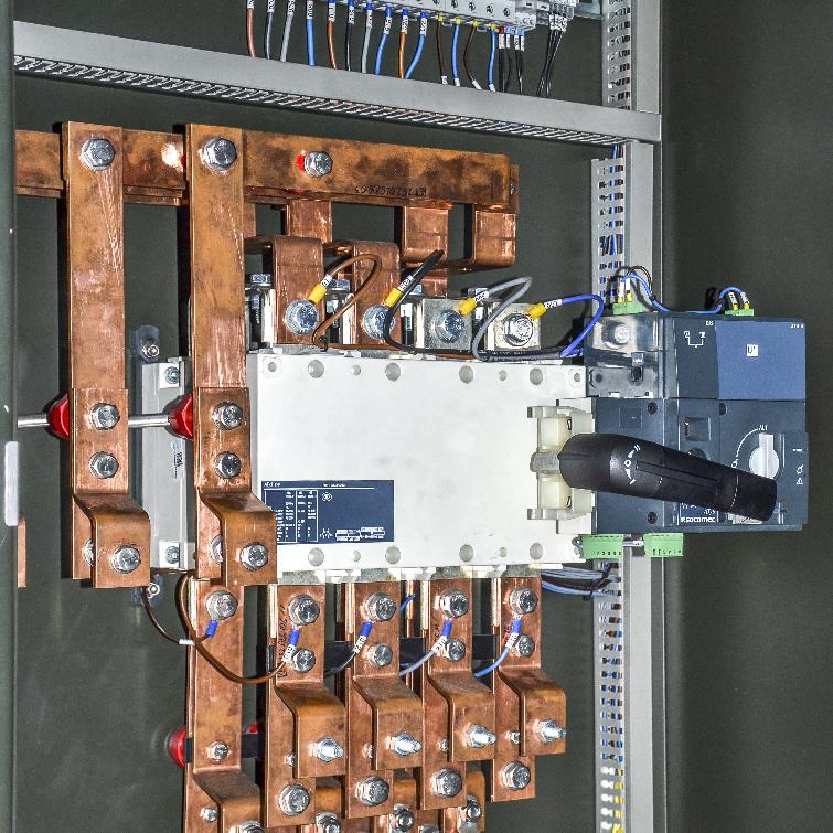Kontenerowa Elektrownia Polowa KEP 250 - Szyny dawcze