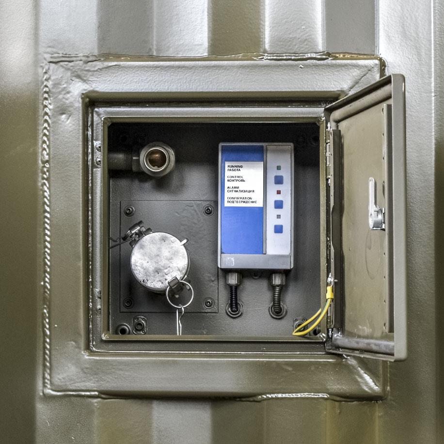 Kontenerowa Elektrownia Polowa KEP 2x250 - System automatycznego dopełniania paliwa