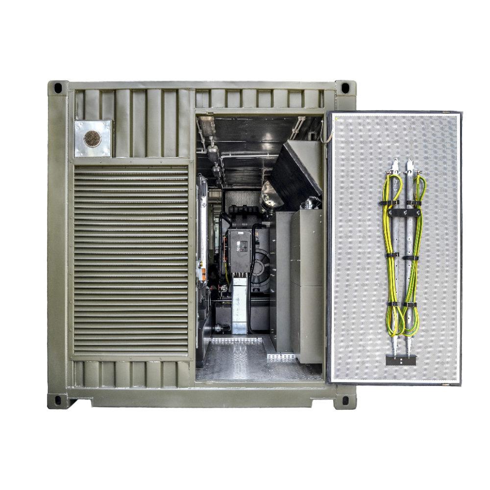 Kontenerowa Elektrownia Polowa KEP 2x250 - Wnętrze