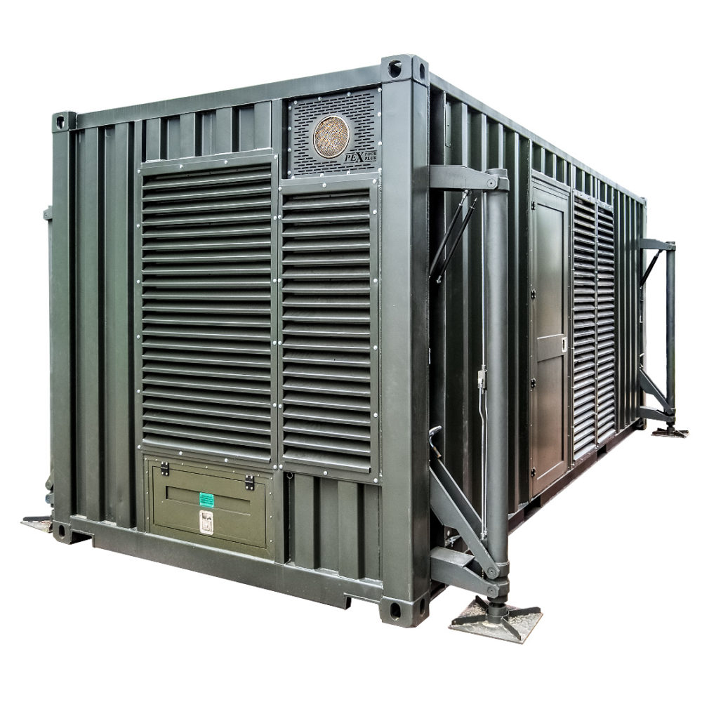 Kontenerowa Elektrownia Polowa KEP 2x300