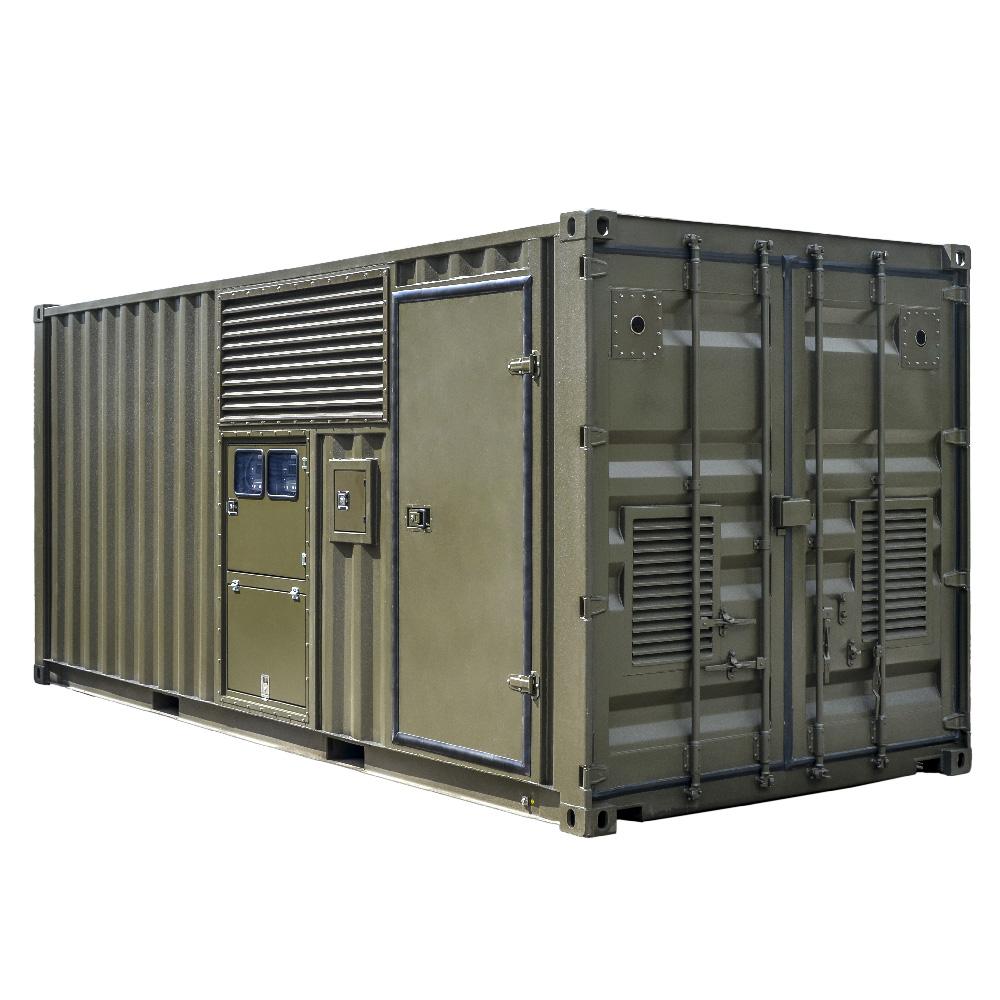 Kontenerowa Elektrownia Polowa KEP 2x65