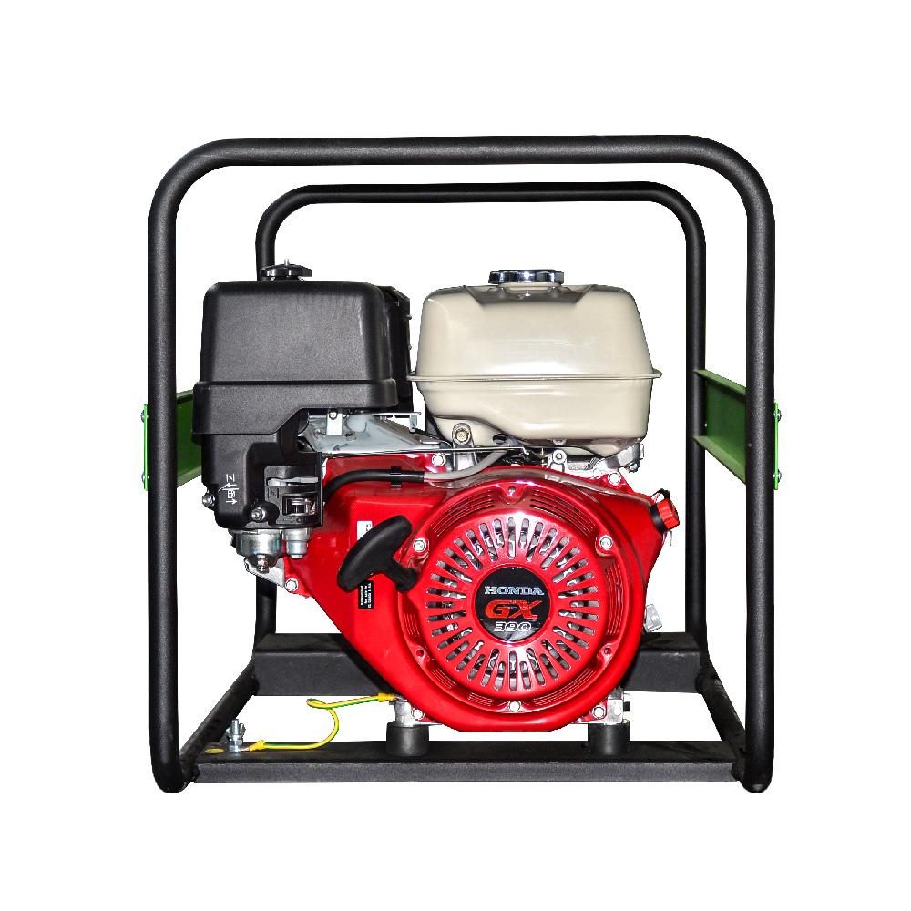 Generator prądotwórczy PEX 7003 - widok z boku