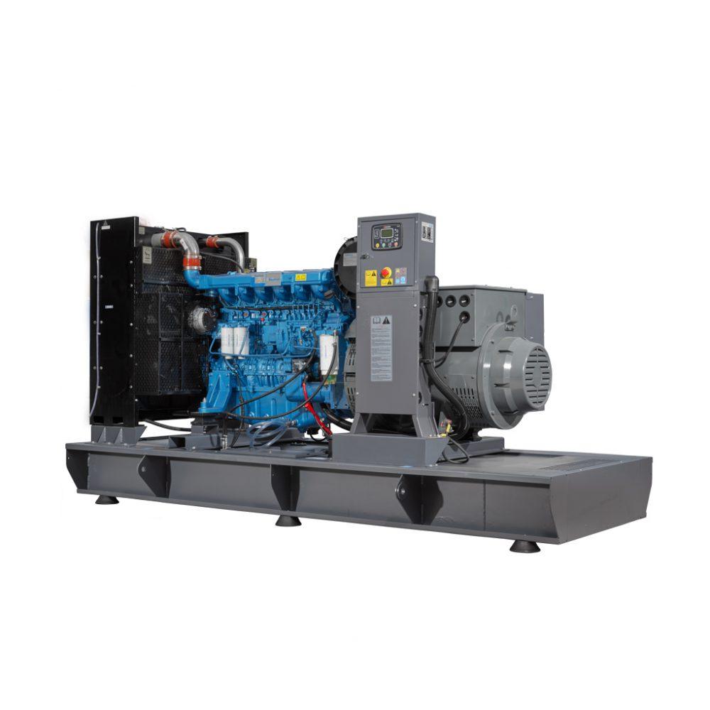 Agregat prądotwórczy otwarty z silnikiem Baudouin