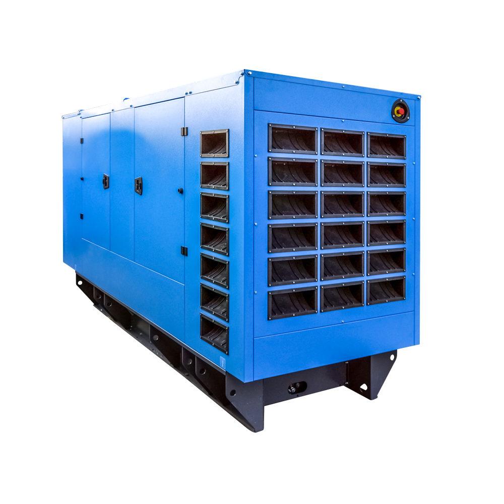 GPW seria BlueLine 150-220 kVA tył - zdjęcie poglądowe - (producent zastrzega sobie możliwość zmian wyglądu)