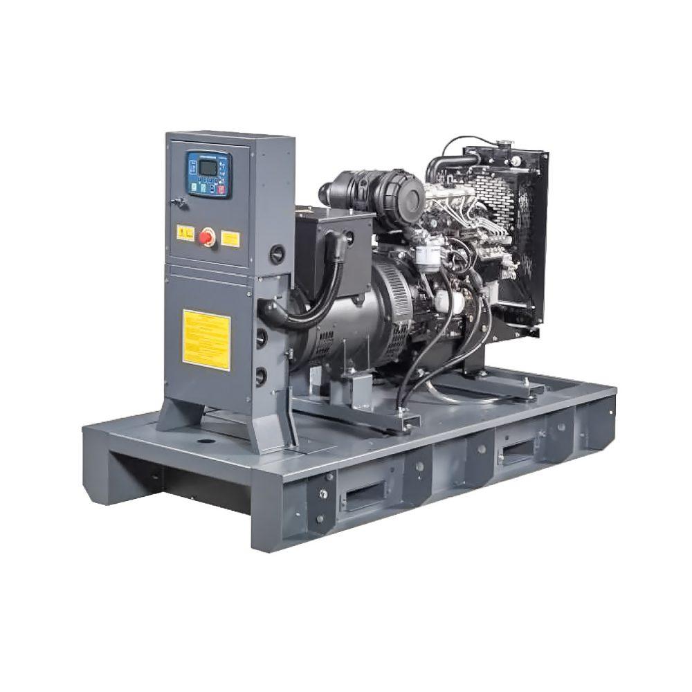 Agregat prądotwórczy, wersja otwarta, z silnikiem Iveco