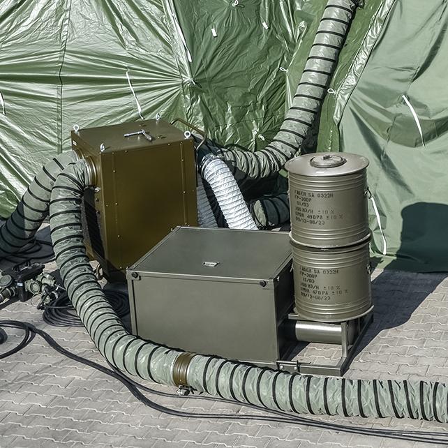 Filtrowentylacja FW-600 z klimatyzacją KM 7